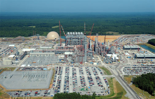 The under-construction Kemper project in Mississippi (image courtesy Wikipedia)