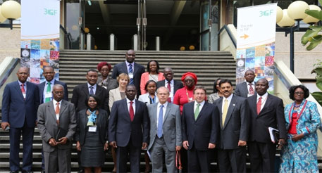 Delegates at the conference in Nairobi