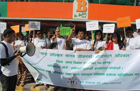 Nepal's civil society wants right to food to become fundamental right