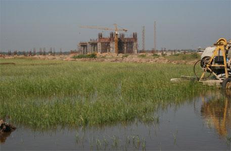 Nirma cement plant in Mahuva block of Bhavnagar district of Gujarat (Photo: Sunita Narain)