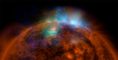 NASA's NuSTAR clicks first solar image