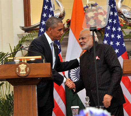 Obama and Modi discuss climate change; make no commitments