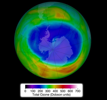 Ozone hole smaller than 1990s level; scientists study reasons behind trend
