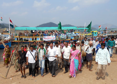 Polavaram ordinance: protests by adivasis intensify