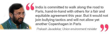 Prakash Javadekar, Union environment minister