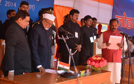 Jharkhand gets first non-tribal chief minister