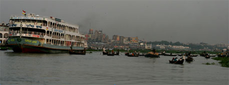 Buriganga chokes on pollutants