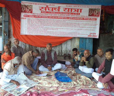 River activist on indefinite hunger strike in Bihar
