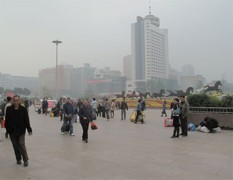 Clean air helps reduce health costs by half in Taiyuan city in China