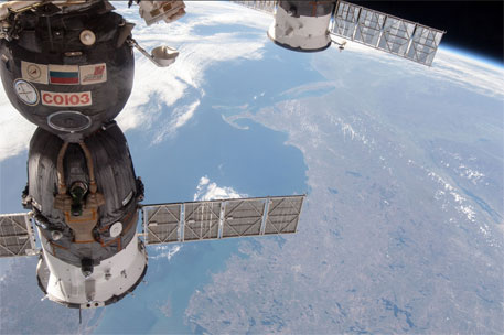 ISS Progress 47 docked at the International Space Station (Photo courtesy: NASA)