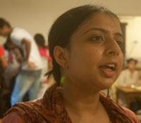 Supurna Dasgupta, student, Delhi University