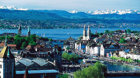 Switzerland has witnessed a temperature rise of 1.75°c due to global warming since 1864