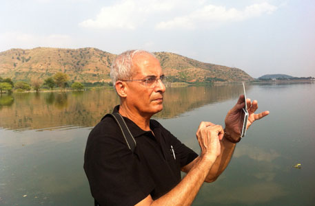 Tez Razdan, convener of Jheel Sanrakshan Samiti, the petitioner, says the island usurped by the developer is a nesting ground for birds, reptiles and amphibians, and that it is an important part of the lake ecology