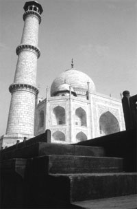 The Taj Mahal: afflicted by pollution