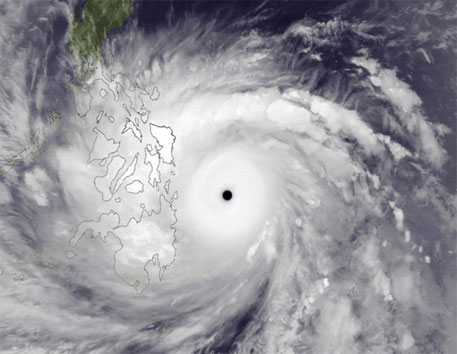 Increased typhoon intensity linked to ocean warming