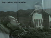 Don't shun AIDS victims
