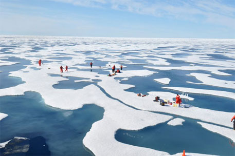 Warming Arctic may be responsible for world's extreme weather