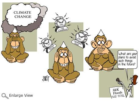 Graphic Editor Sorit Gupto: Climate warning