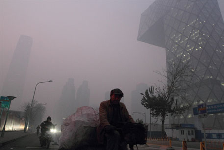 Beijing's coal-fired power stations are largely blamed for air pollution in the city  (Image courtesy flickr)