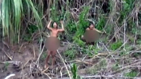 Amazon tribe makes first contact with outside world