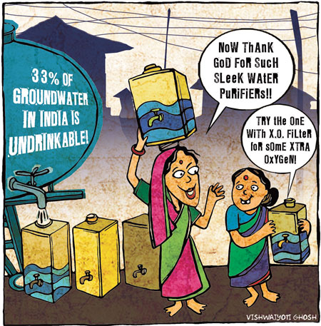 Groundwater benefits purifiers