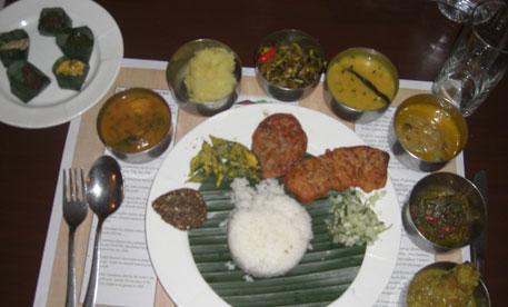 Assam on a platter