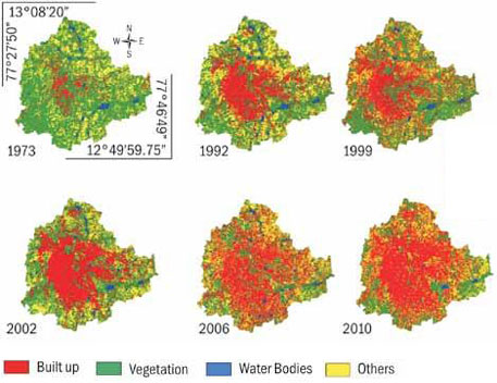 Bengaluru's urbanisation at the cost of green cover and waterbodies