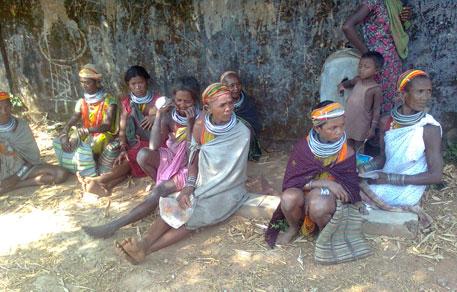 Women of Bonda tribe in Malkangiri in Odisha (Photo: Ashis Senapati)