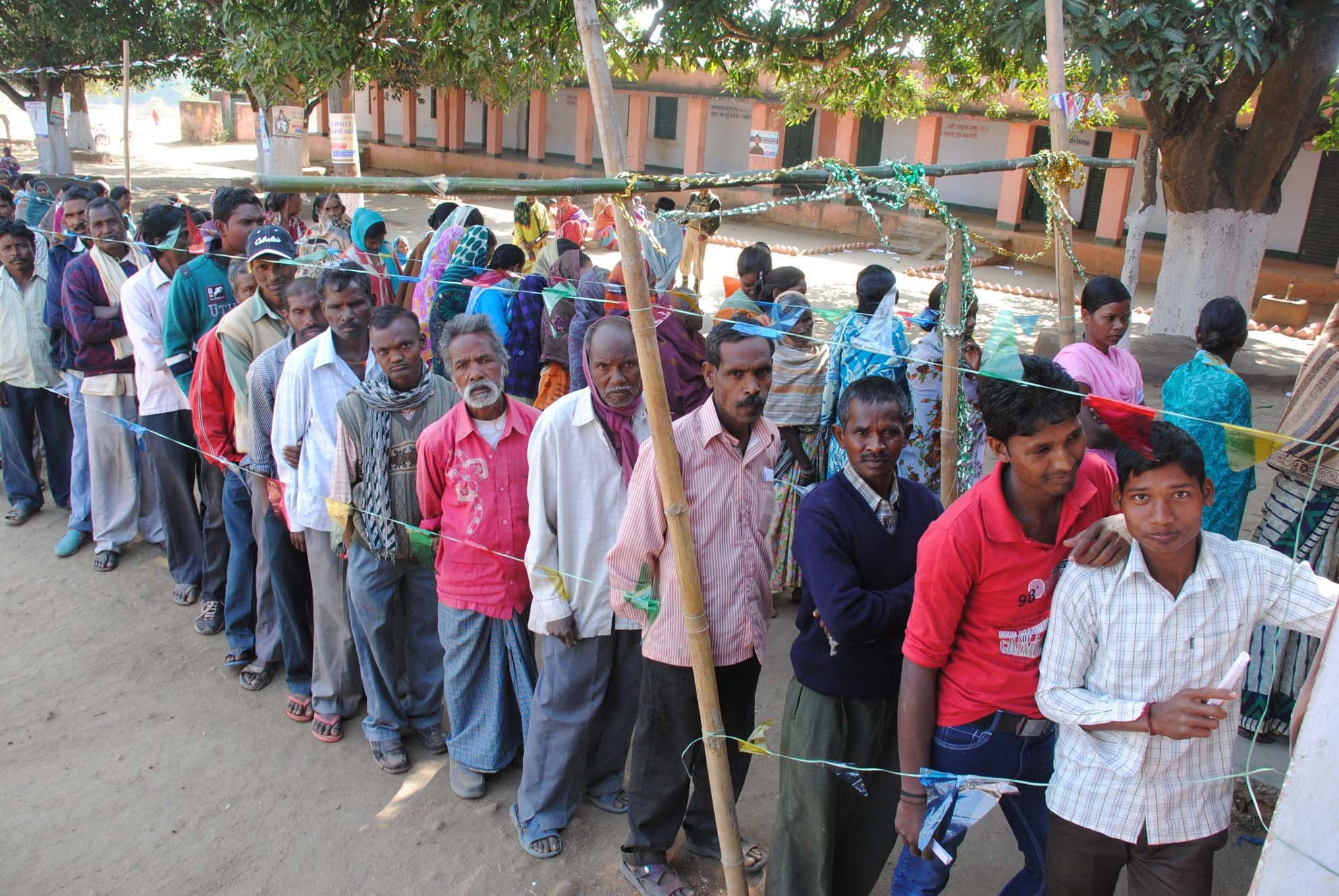 Jharkhand polls: Naxalite-affected areas record high voter turnout in phase 2