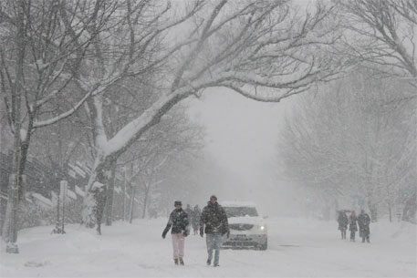 Winter 2014 set to be 'coldest of the century'; climate change may be held responsible