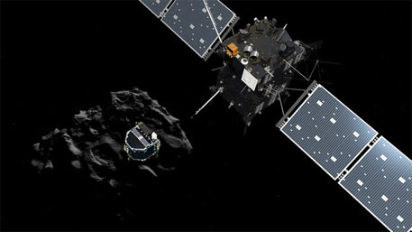 Many mysteries of solar system may be solved as Rosetta probe lands on comet