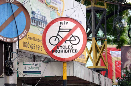 Cycle ban in Kolkata: activists petition high court