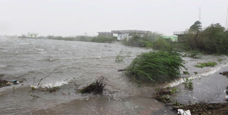 The extent of damage caused by Cyclone Hudhud is yet to be fully established as communication lines remain affected