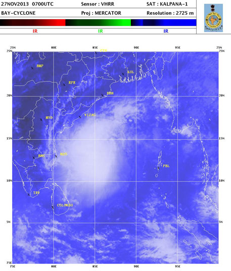 Cyclone Lehar may be as severe as Phailin