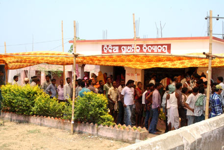 92 per cent voter turnout in panchayat protesting POSCO