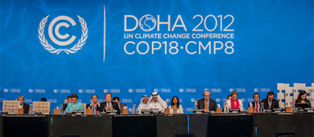 CSE-MoEF side event at CoP 18, Doha