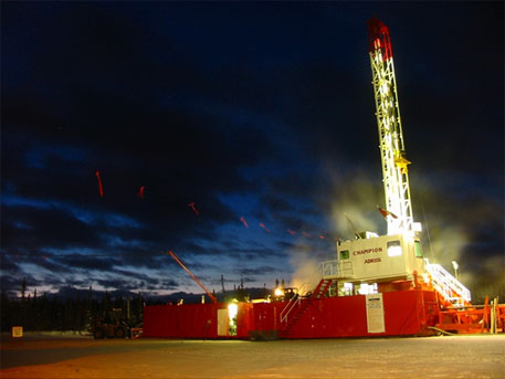 Representational image of a drilling rig (Photo courtesy: Wikipedia)