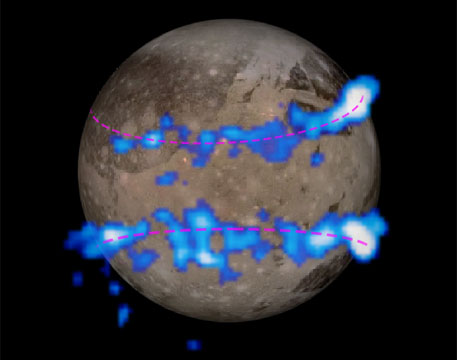 Hubble telescope confirms presence of water on Jupiter's largest moon