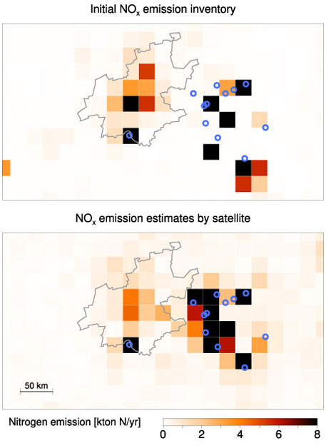 SATELLITES IMPROVE AIR QUALITY MONITORING IN SOUTH AFRICA, 22 August 2013