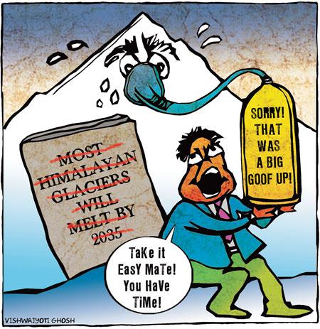 The Himalayan blunder
