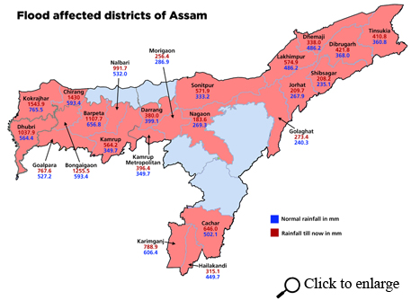 Assam, Arunachal Pradesh face worst ever floods recorded in June