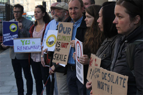 'Natural gas not climate-friendly'