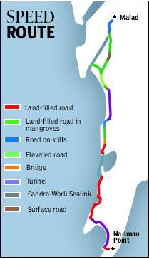 Mumbai sea link extension may be junked in favour of a coastal road