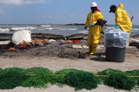Most toxic contaminants of Gulf oil spill are still out there