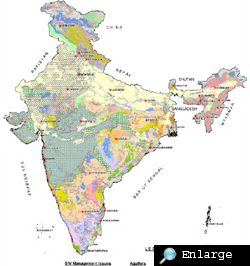 An atlas of India's groundwater aquifers
