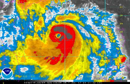 Typhoon Rammasun moving towards India