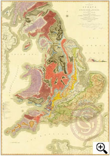 Rare copy of world's first geological map of a nation found