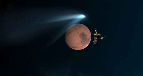 Comet Siding Spring flies past Mars; Mangalyaan safe