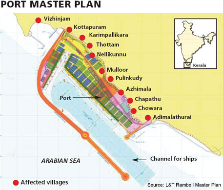 Vizhinjam port contract goes to Adanis;  Chandy calls all-party meet