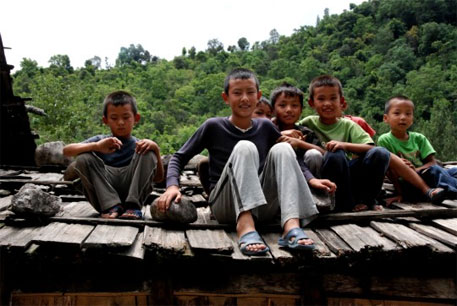 Reason for Bhutan's happy face